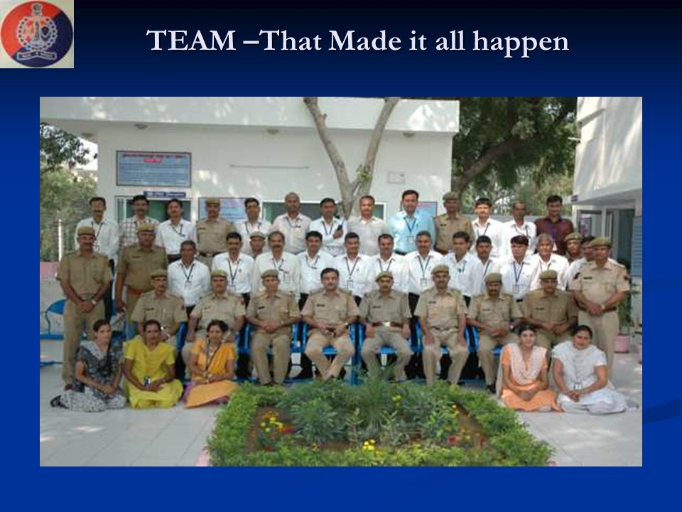 TEAM –That Made it all happen