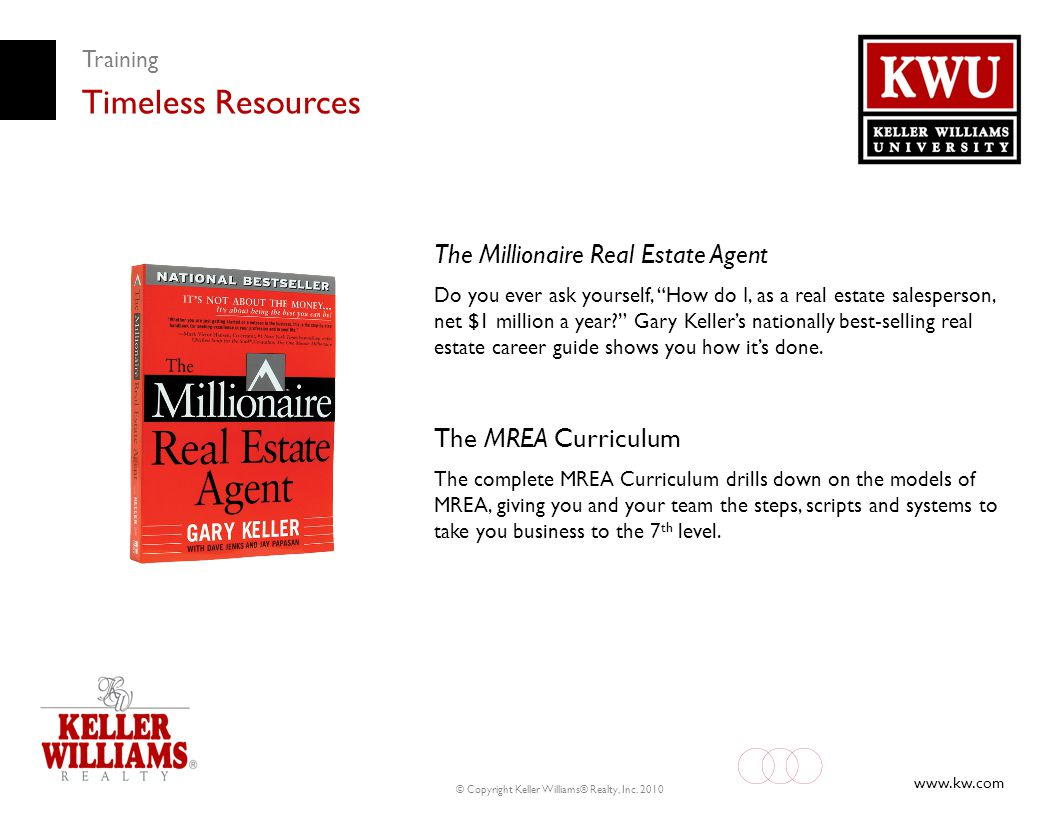 Timeless Resources The Millionaire Real Estate Agent