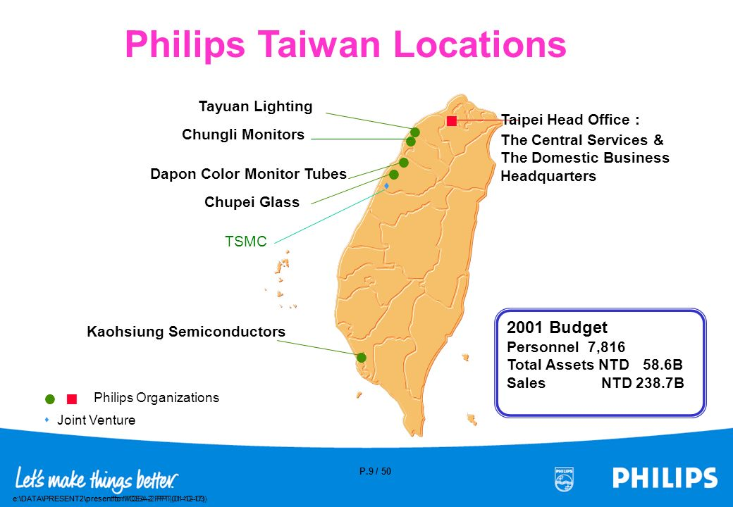 Philips Taiwan Locations