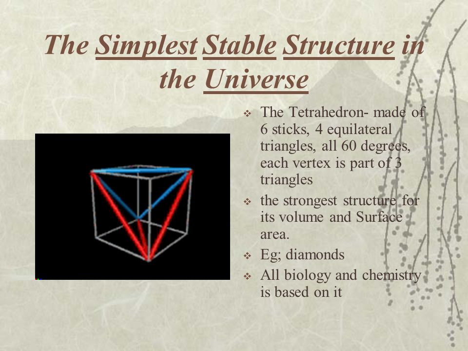 The Simplest Stable Structure in the Universe