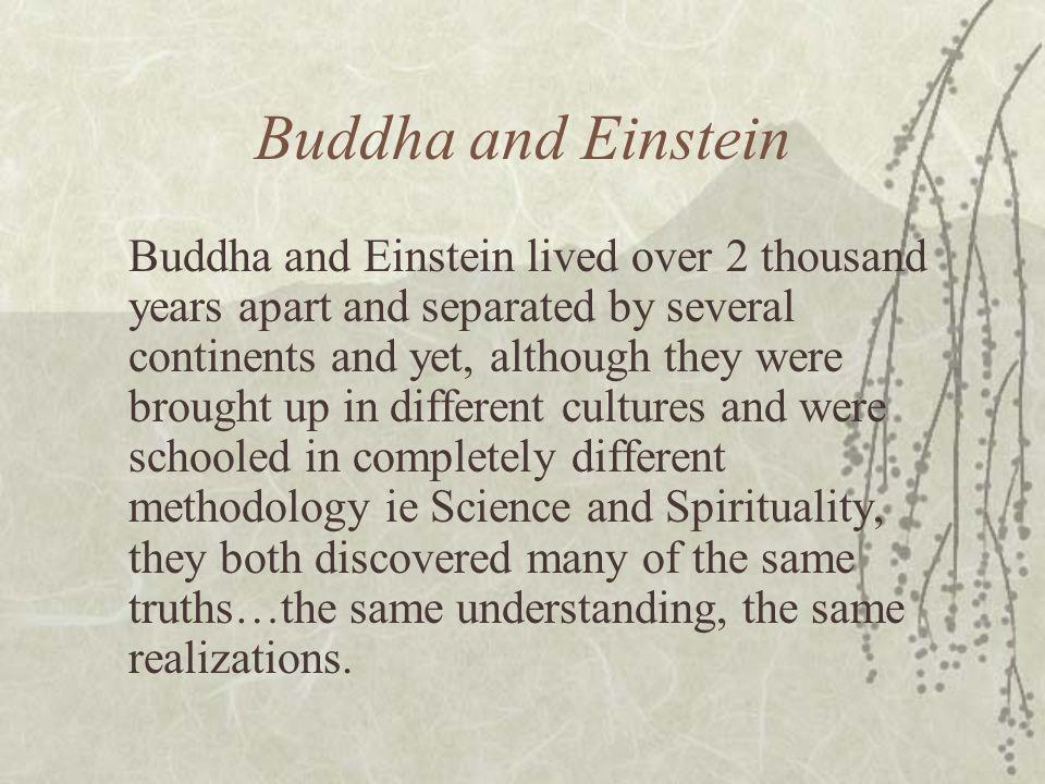 Buddha and Einstein