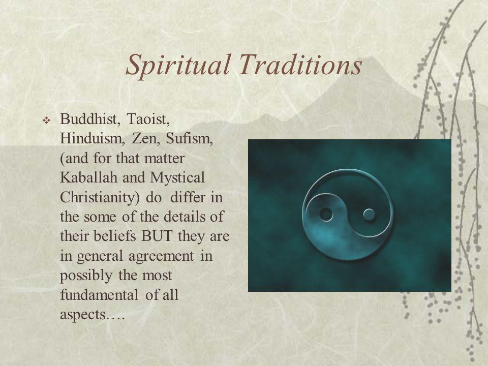 Spiritual Traditions