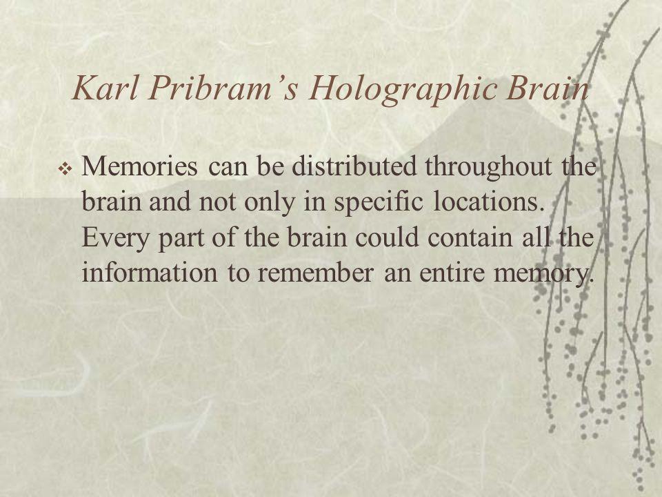 Karl Pribram's Holographic Brain