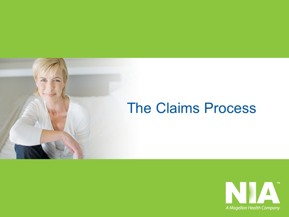 The Claims Process 20