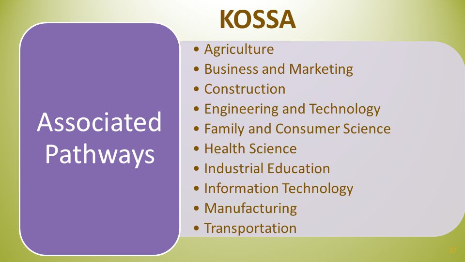 KOSSA Agriculture Business and Marketing Construction