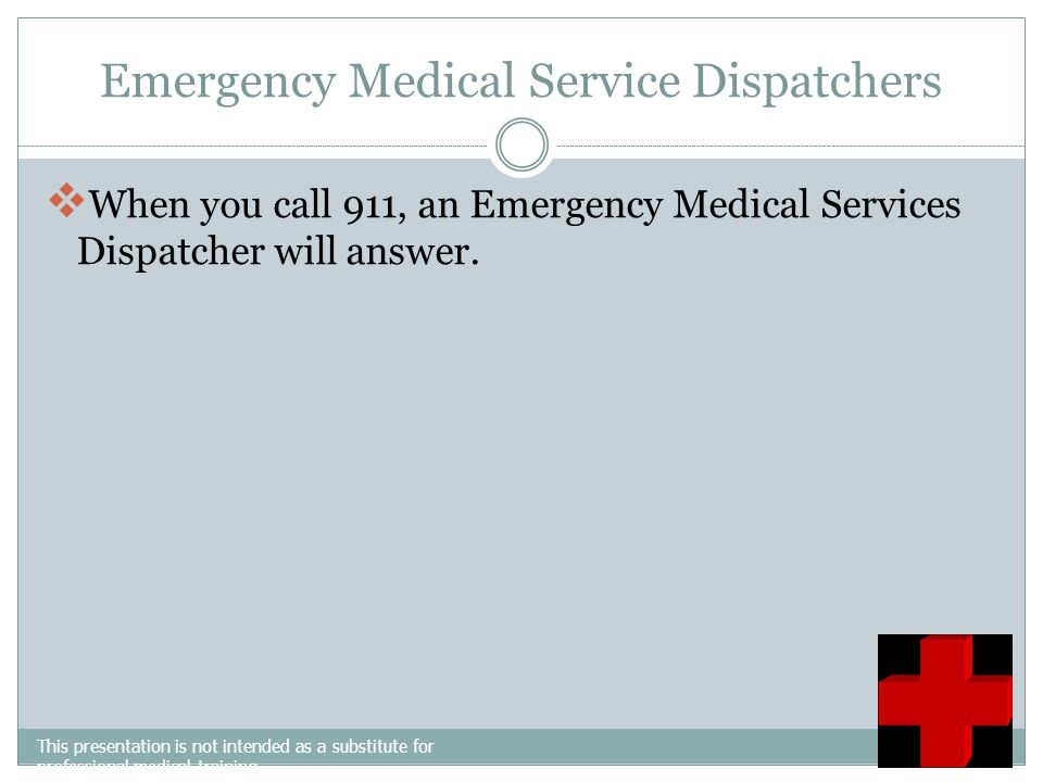 Emergency Medical Service Dispatchers