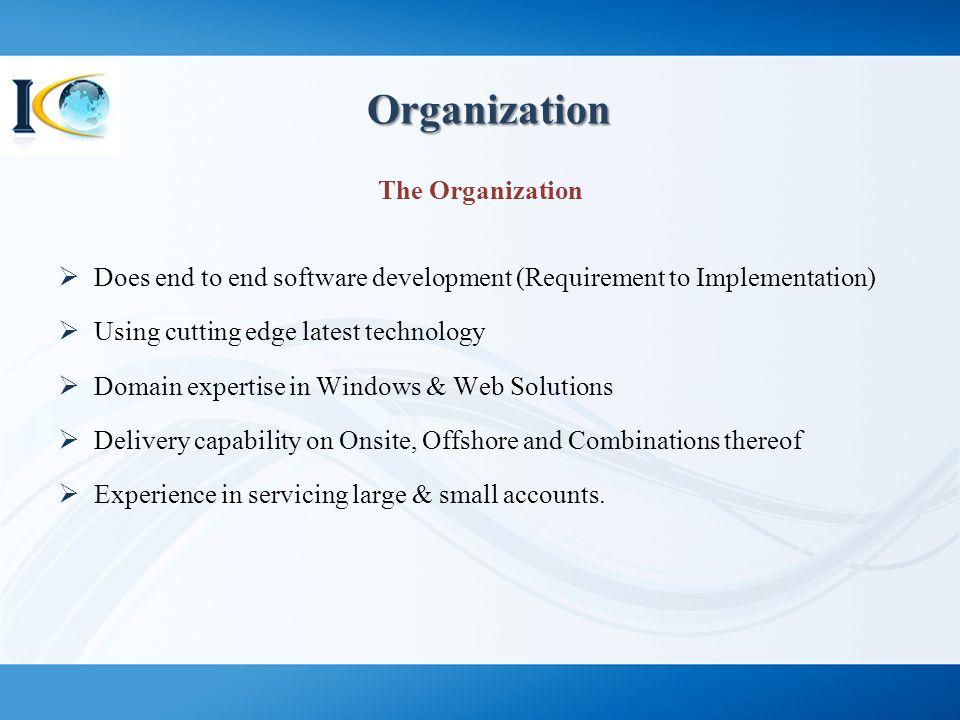Organization The Organization