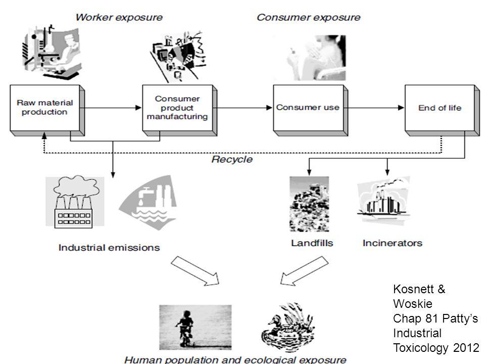 Kosnett & Woskie Chap 81 Patty's Industrial Toxicology 2012