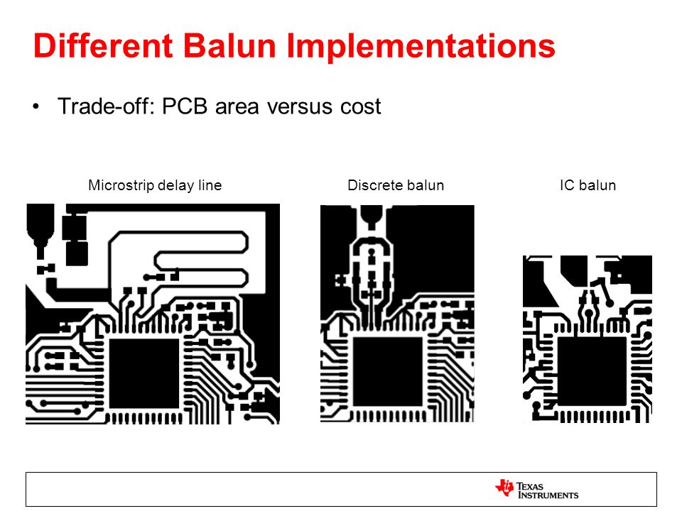 Different Balun Implementations