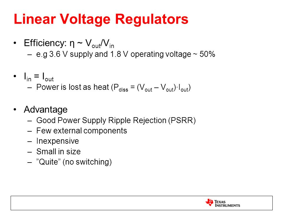 Linear Voltage Regulators
