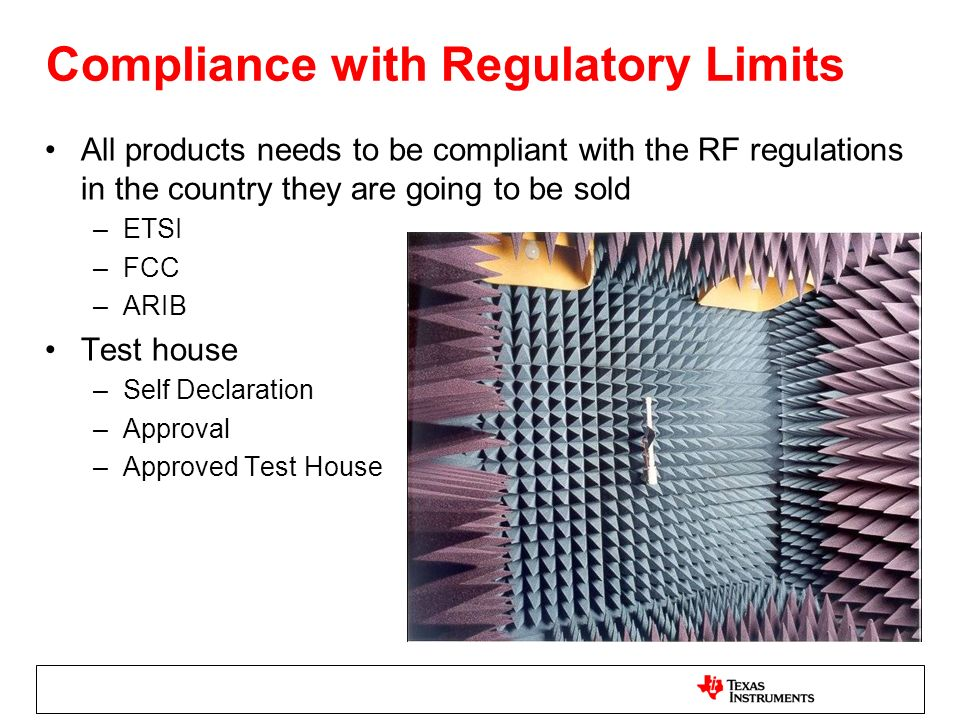 Compliance with Regulatory Limits