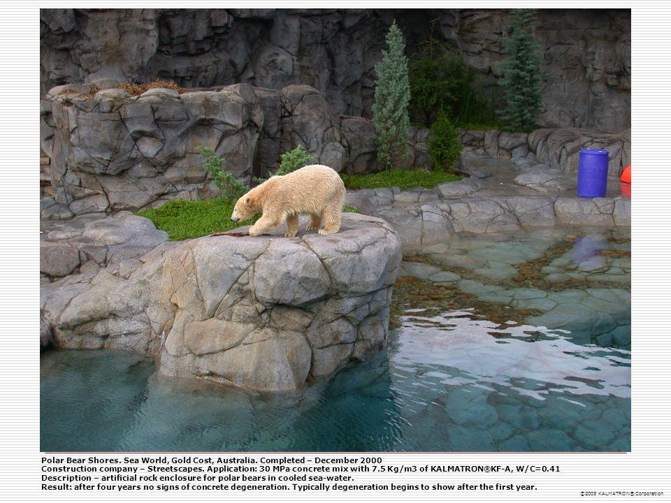 Polar Bear Shores. Sea World, Gold Cost, Australia