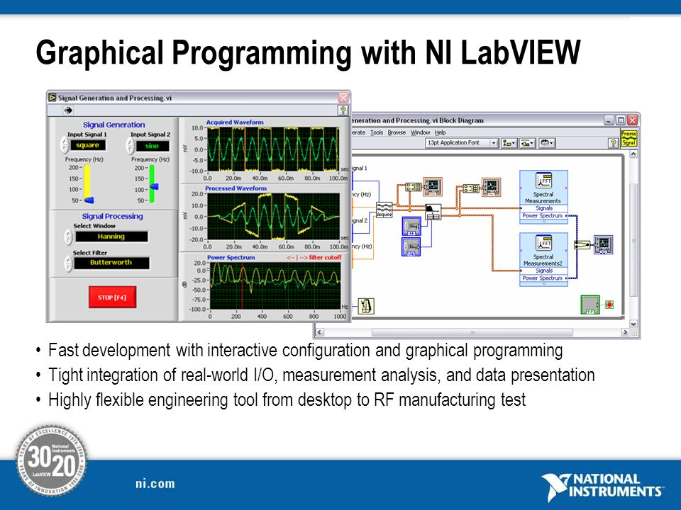 Graphical Programming with NI LabVIEW