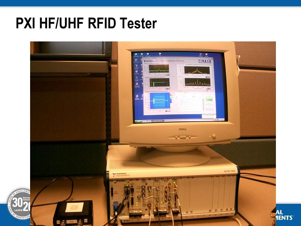 PXI HF/UHF RFID Tester