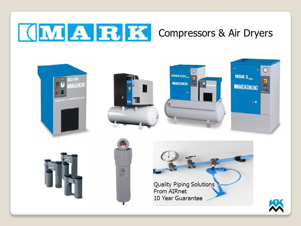 Compressors & Air Dryers