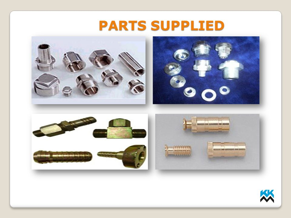 LMP INDUSTRIES PARTS SUPPLIED