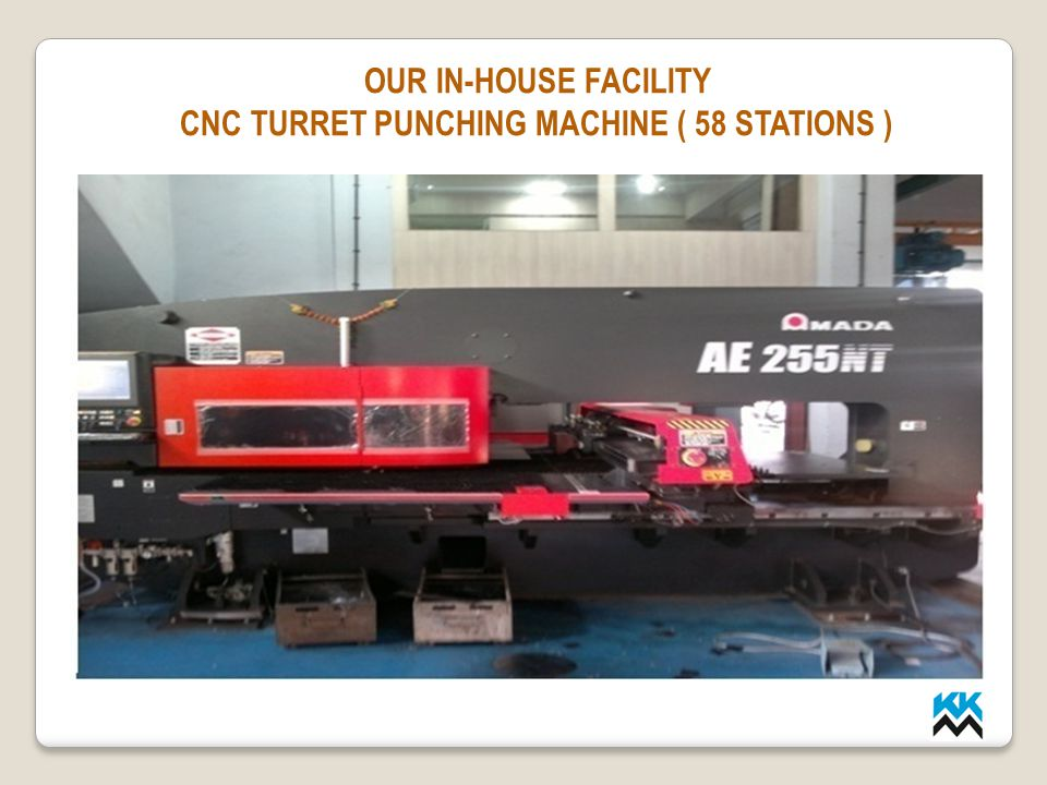 CNC TURRET PUNCHING MACHINE ( 58 STATIONS )