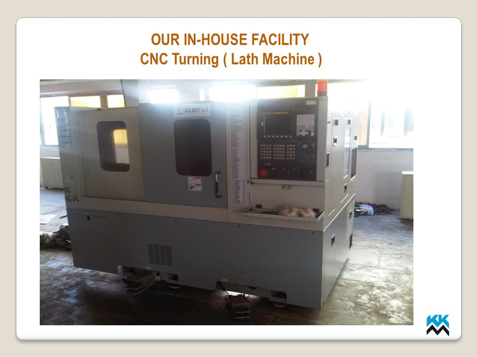 CNC Turning ( Lath Machine )
