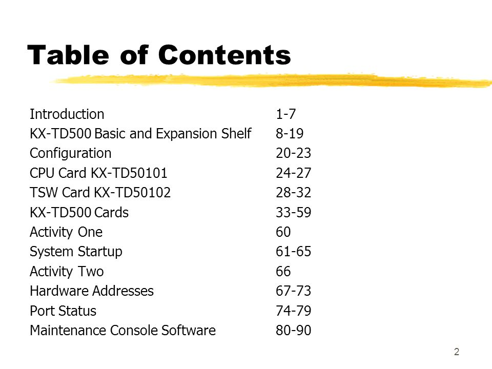 Table of Contents Introduction 1-7