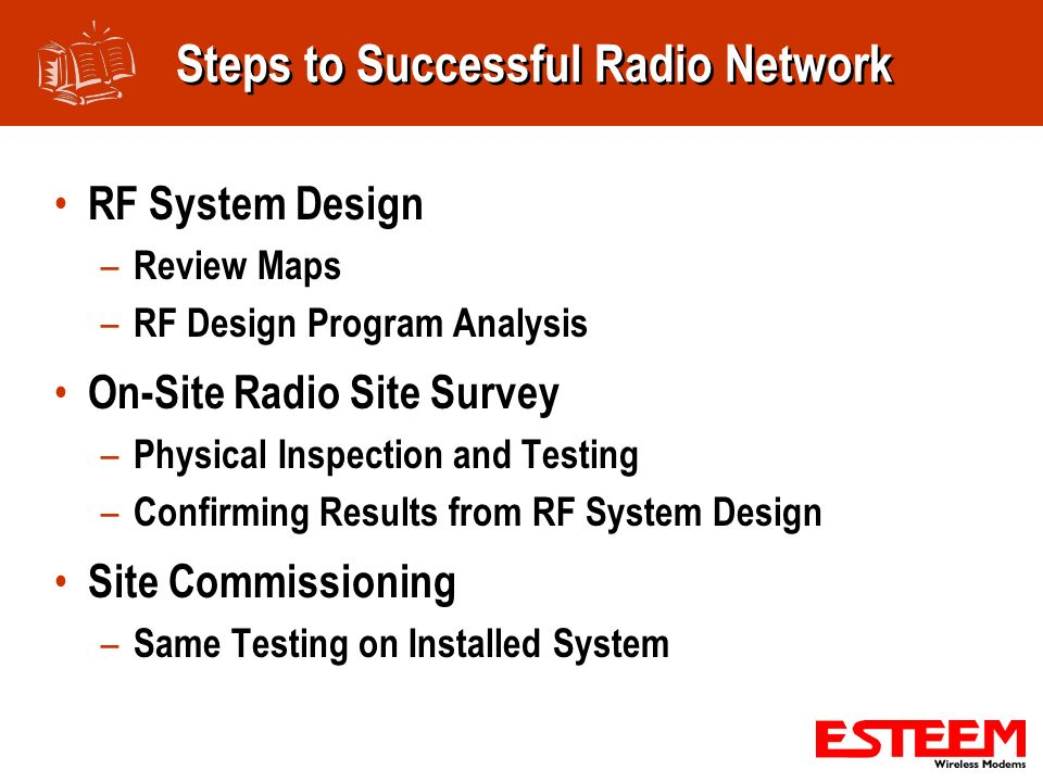 Steps to Successful Radio Network