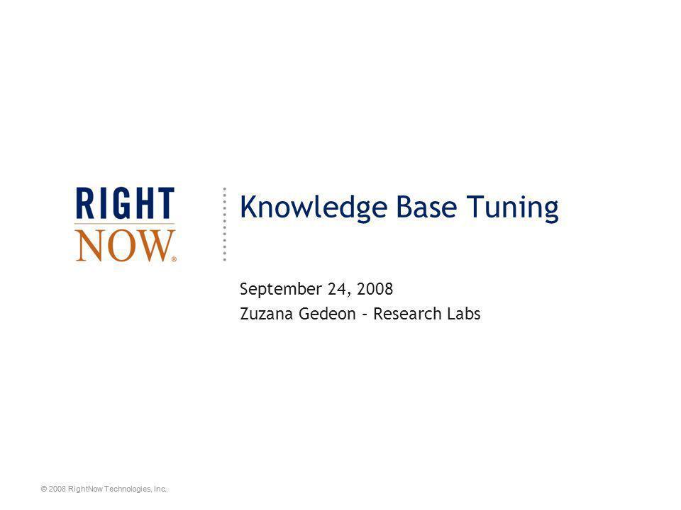 September 24, 2008 Zuzana Gedeon – Research Labs
