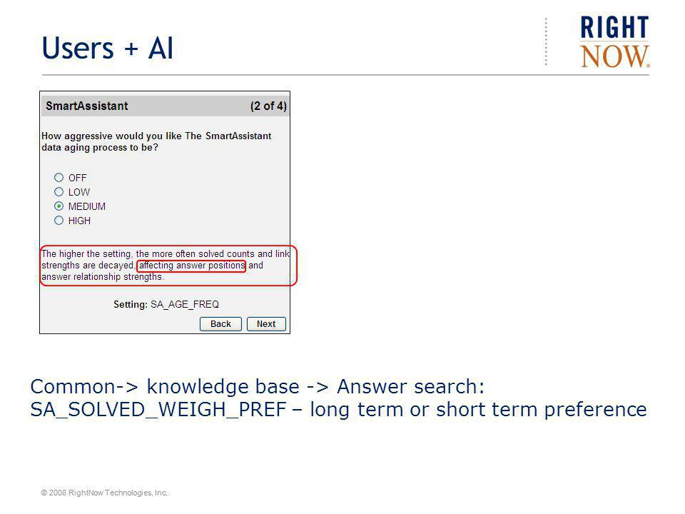 Users + AI Common-> knowledge base -> Answer search: