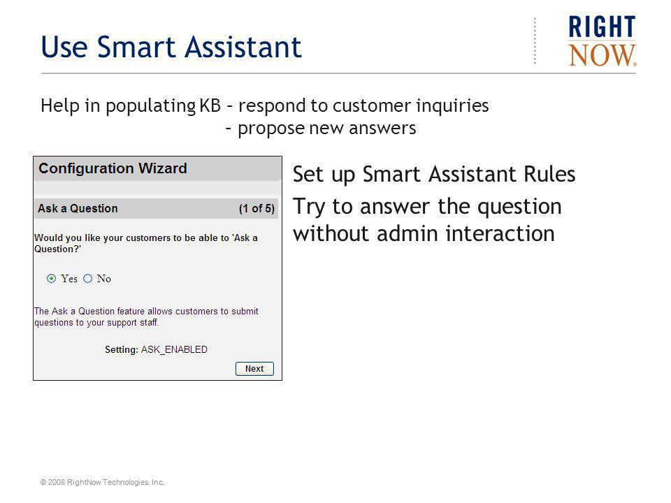 Use Smart Assistant Set up Smart Assistant Rules