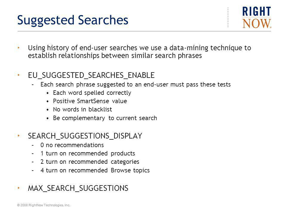 Suggested Searches EU_SUGGESTED_SEARCHES_ENABLE