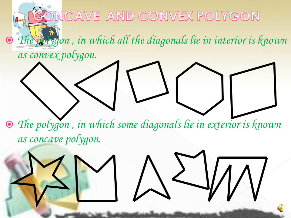 CONCAVE AND CONVEX POLYGON