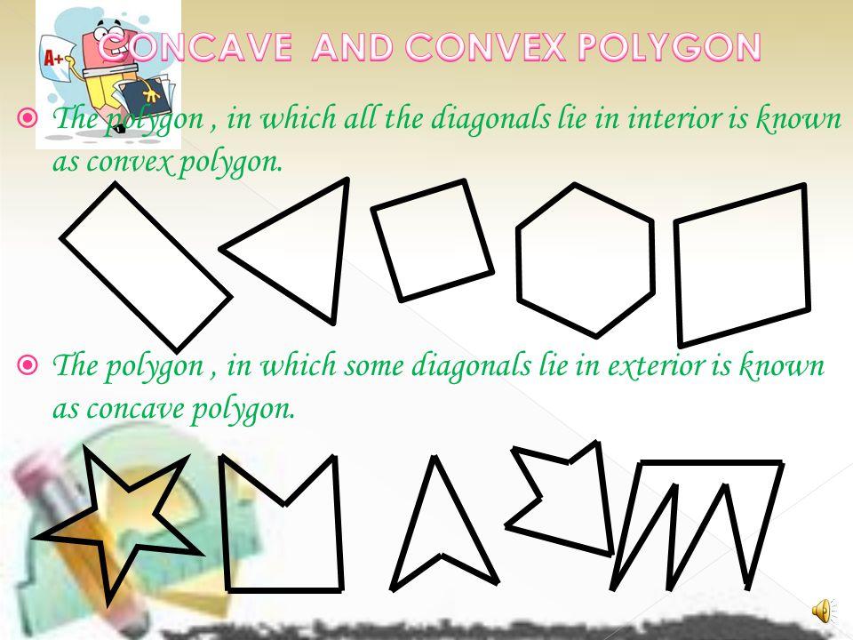 CONCAVE AND CONVEX POLYGON