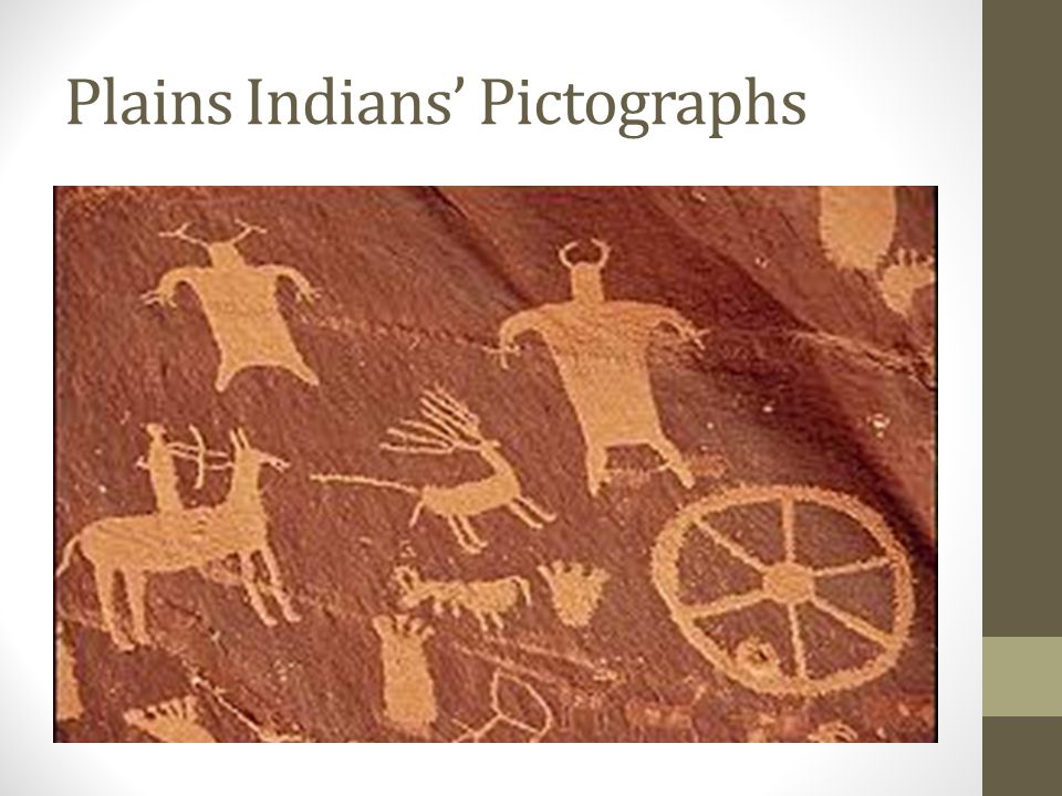 Plains Indians' Pictographs