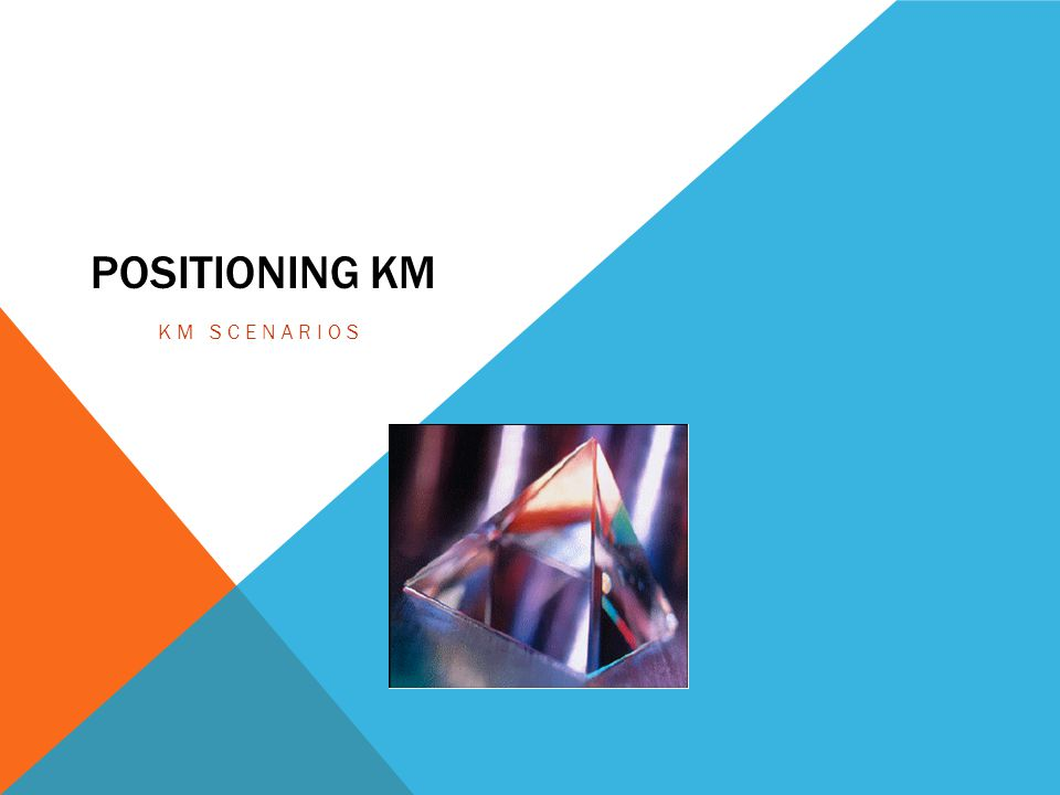 Positioning KM KM Scenarios