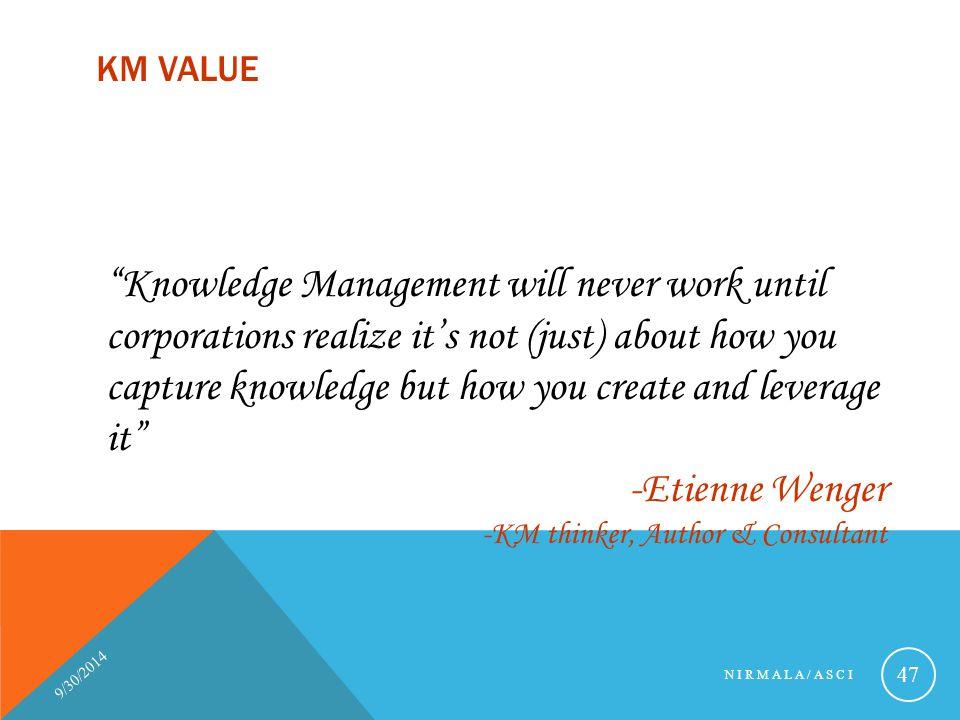 KM Value