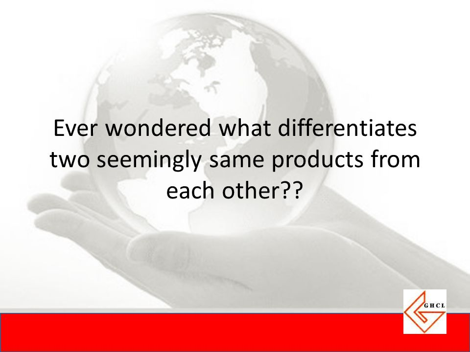 Ever wondered what differentiates two seemingly same products from each other