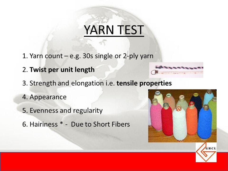 YARN TEST