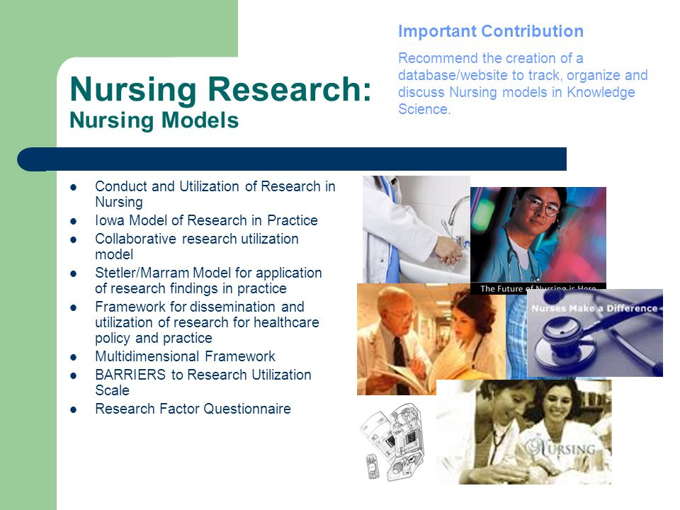 Nursing Research: Nursing Models