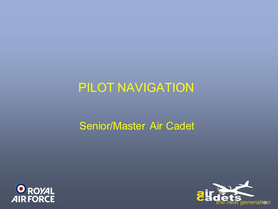 Senior/Master Air Cadet