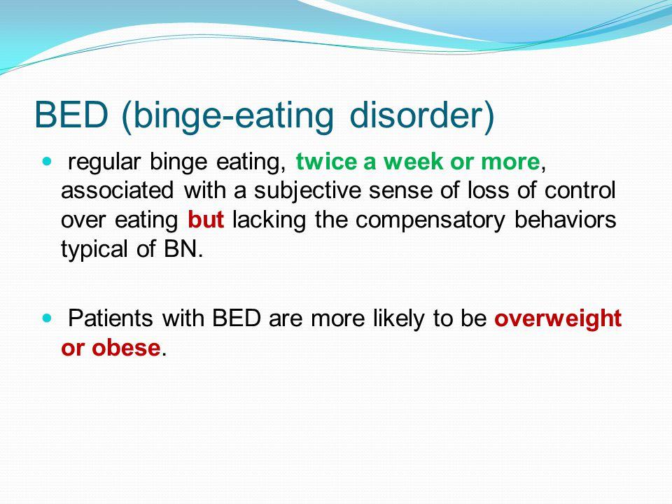 BED (binge-eating disorder)