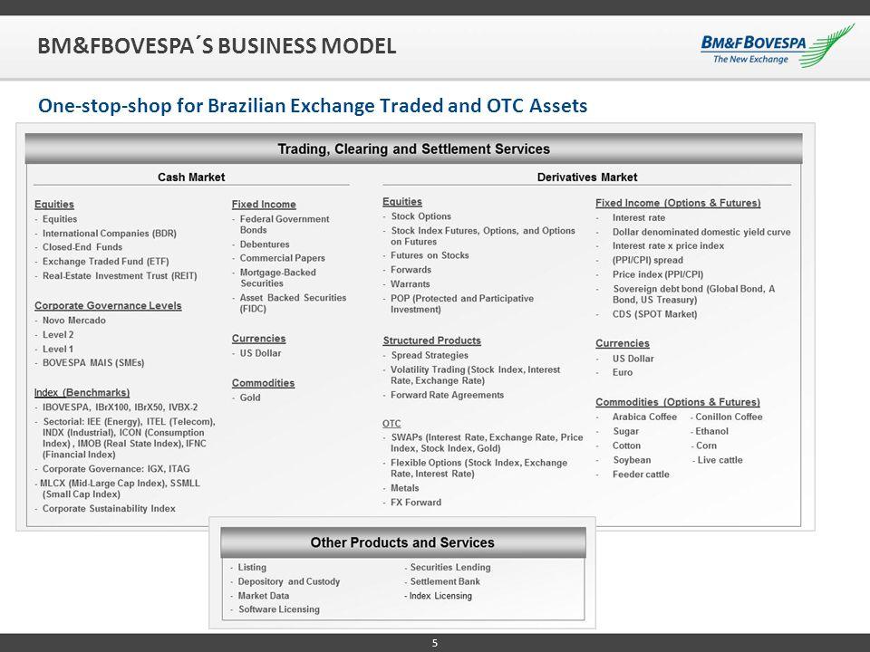 BM&FBOVESPA´S BUSINESS MODEL
