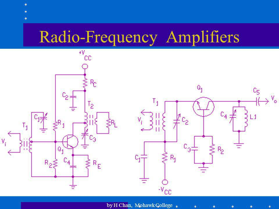 Radio-Frequency Amplifiers