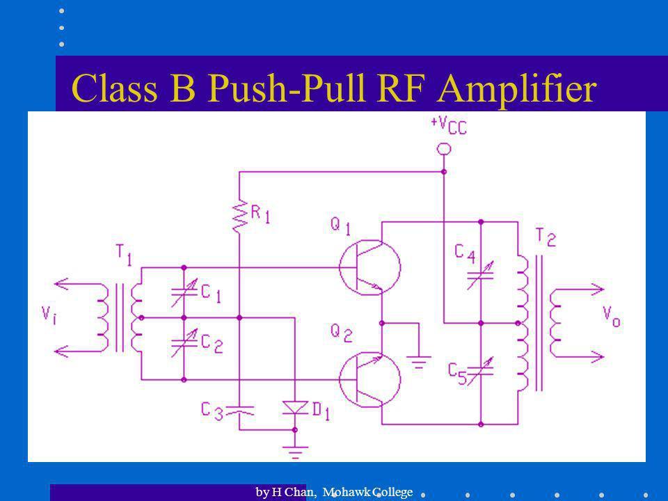 Class B Push-Pull RF Amplifier