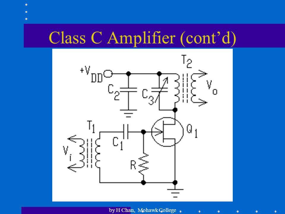 Class C Amplifier (cont'd)