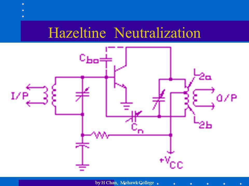 Hazeltine Neutralization