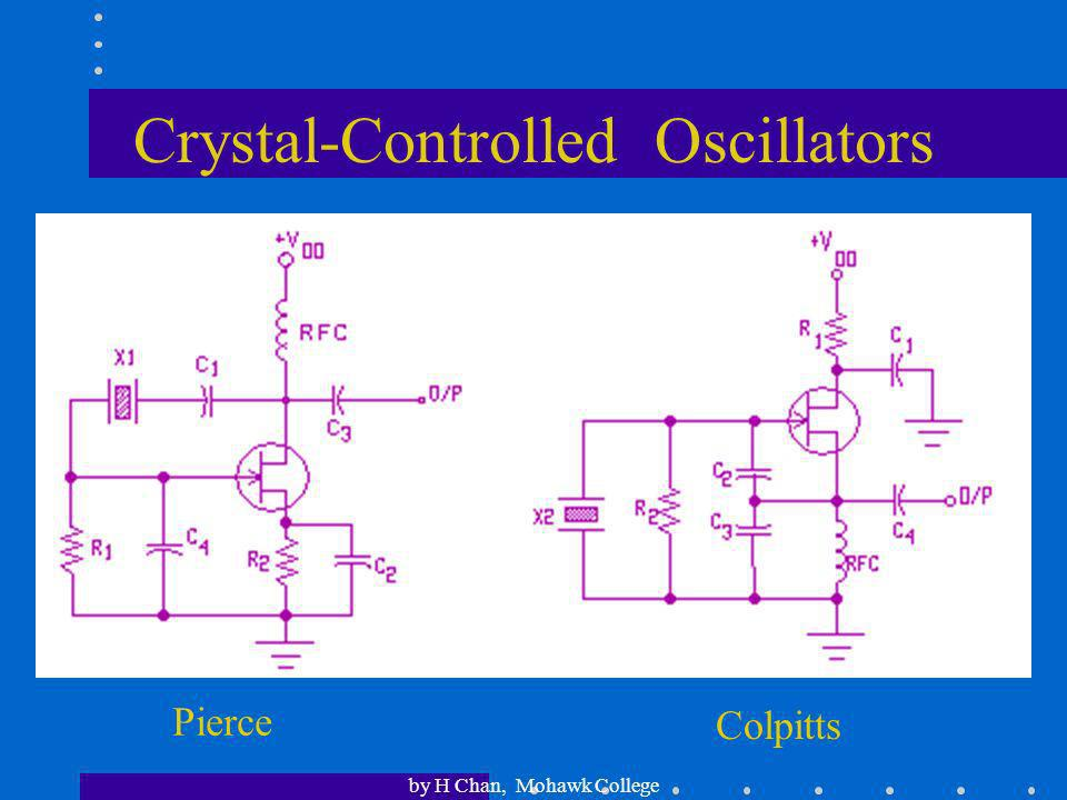 Crystal-Controlled Oscillators