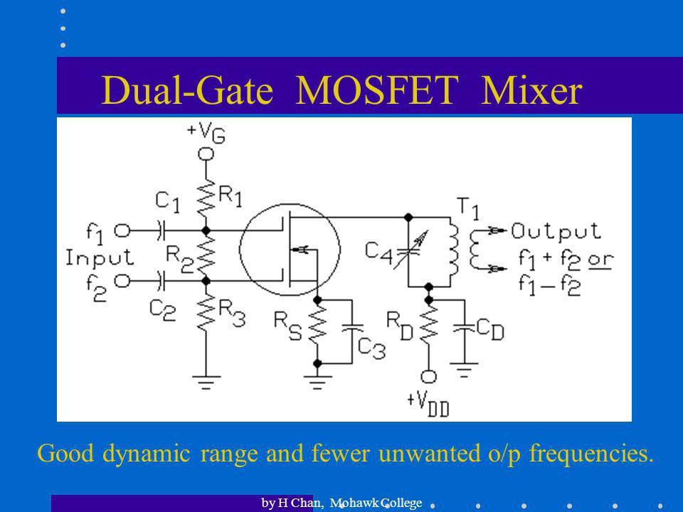 Dual-Gate MOSFET Mixer