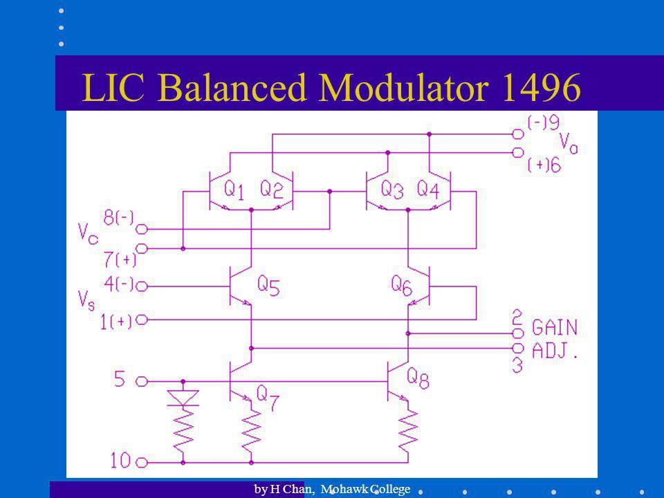 LIC Balanced Modulator 1496