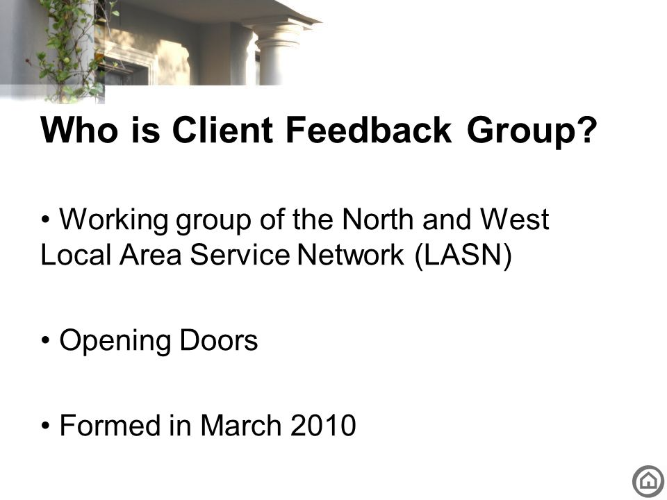 Who is Client Feedback Group