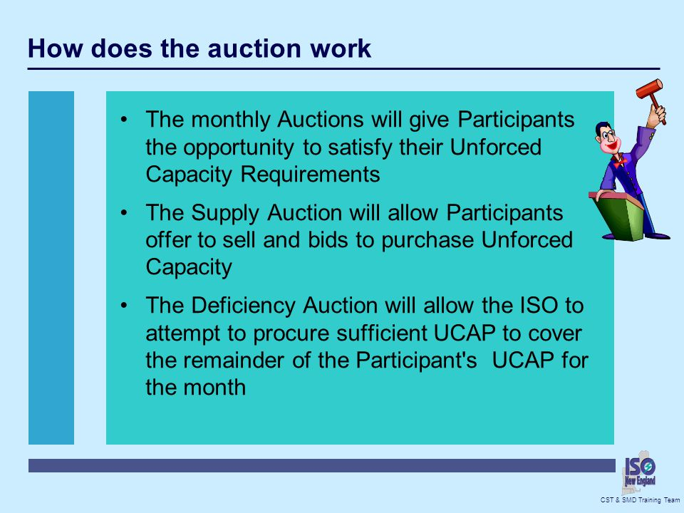 How does the auction work