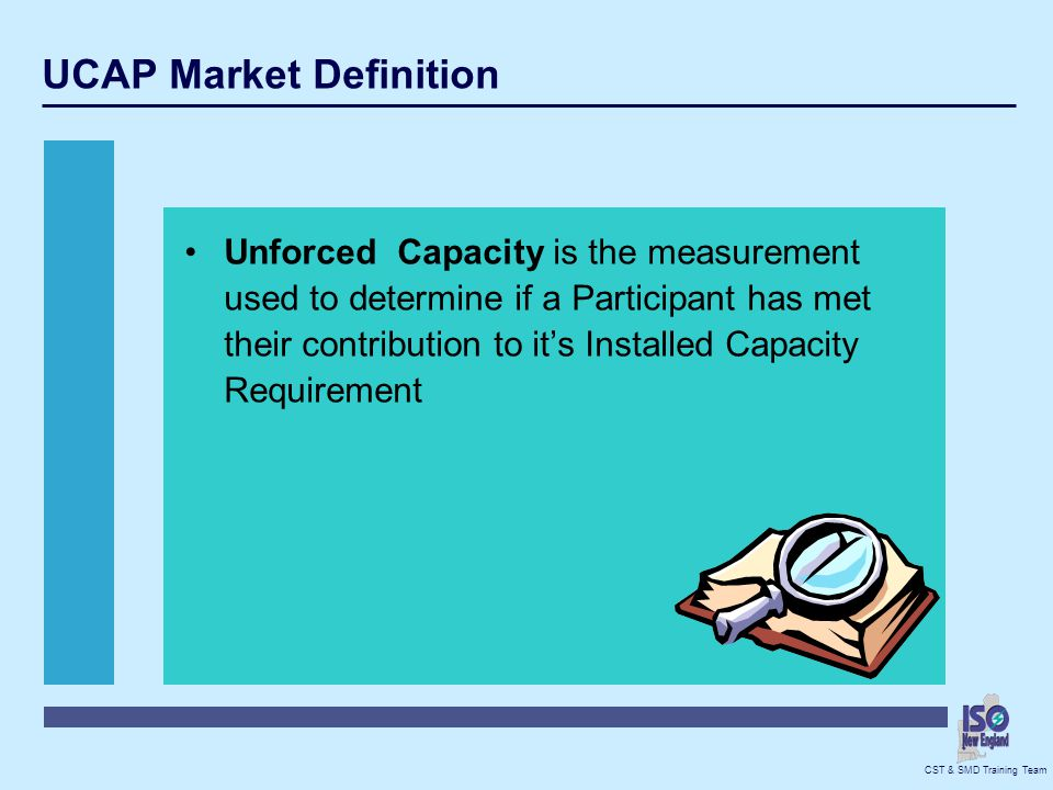 UCAP Market Definition