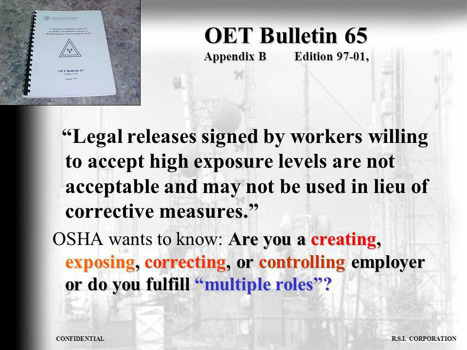 OET Bulletin 65 Appendix B Edition 97-01,